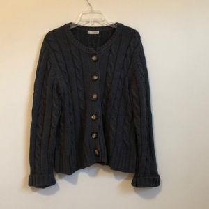 Old Navy cable knit cardigan